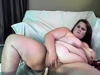 Hidden Masturbate MY CHUBBY FAT WIFE
