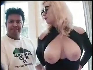 Big breasted mature whore is on the road to subhuman a happy slut