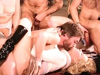 The hottest gang fuck-a-thon gigs From old-school porno In One movie Online freeporn