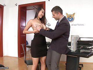 Office sex with jaw-dropping beauties in the hottest compilation every time