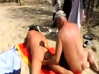 Girl fingered by stranger onwards beach