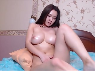 PRETTY KOREAN WITH FAT TITS - DONATE FOR MORE paypal.me/bebypanda