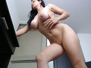 This webcam slut needs a chubby weasel words to pounce upon that ass and her boobs are fine
