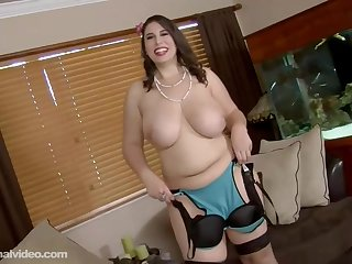 Fat night-time about big, saggy tits, Adriana Avalon got down and dirty about a black dude