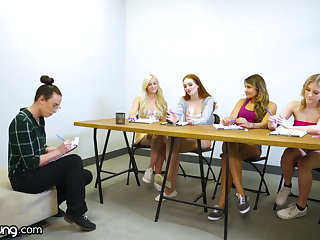 WebYoung Lesbian Focus Group Curves Into A Foursome