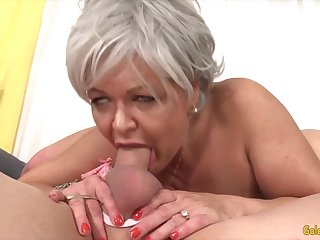 Sexy and hot old battalion pulling hard dicks in their mouth and give awesome blowjobs