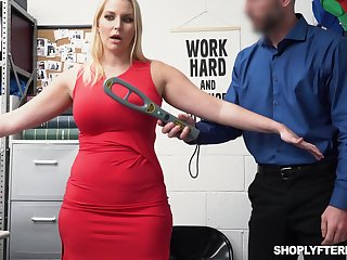 Gorgeous milf Vanessa Pen gets fucked plus jizzed for defrauding