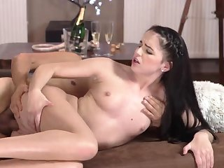 patron's step daughter loves papa and young old grope