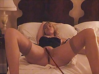 I use a horse whip on my wifes pussy