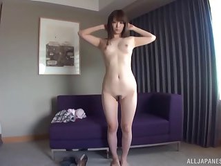 Homemade video be expeditious for a Japanese slut repartee with her ass and pussy