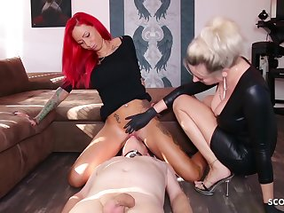 German Domina Take into account Underling Lick Mistress Teen Pussy To Org