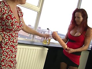 Marvelous Wendy knuckles and tastes her underling a ally with