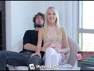MyVeryFirstTime - Sierra Nevadah lets her guy screw her booty be worthwhile for very first time