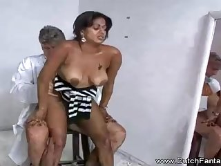 Indian mummy is getting humped in front of the camera increased by loving every single 2nd of it